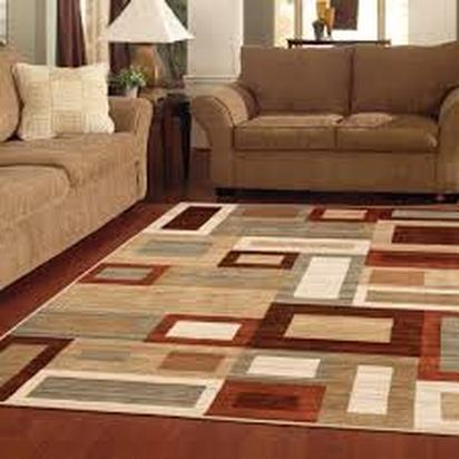 area rug in living room